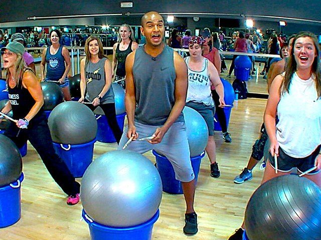 There's a new workout that will make your heart beat. It's called Drums Alive and it will also make you feel like a total rock star. Jared Cotter and instructor Kai O'Neill have three benefits of rocking this drum workout.
