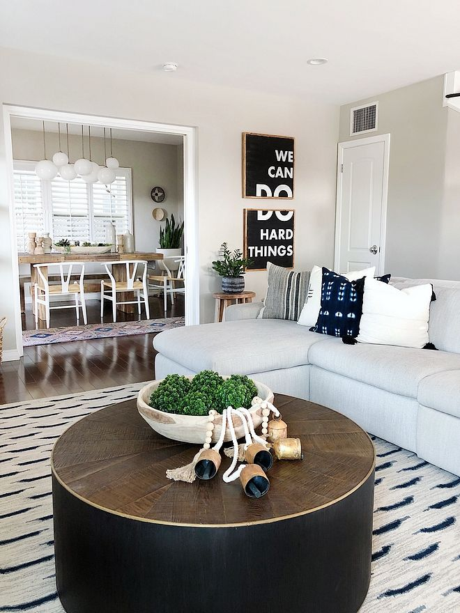 Rustic Round Coffee Table Black Coffee Table Its Simple Form Is