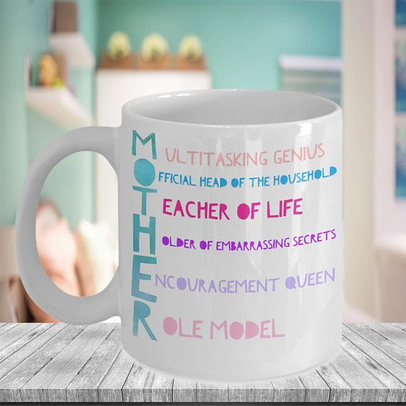 Mother Acronym Mug Best Mum Ever Mothers Day Gift