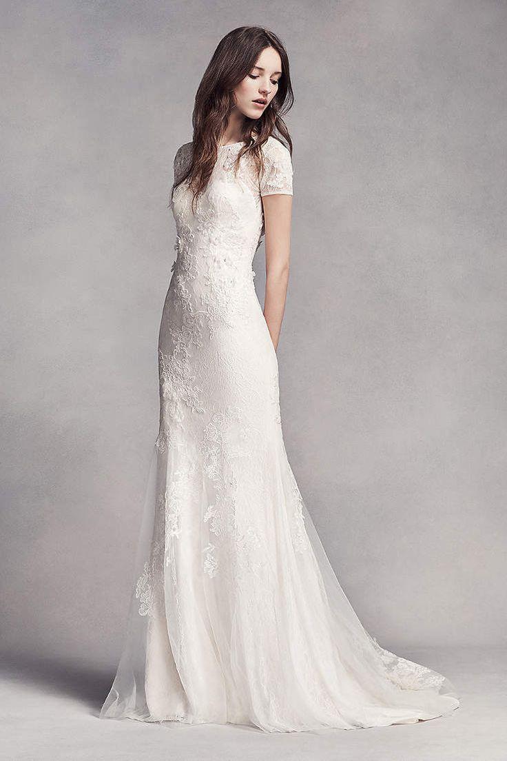 Best 20 Sheath Wedding Dresses Ideas On Pinterest