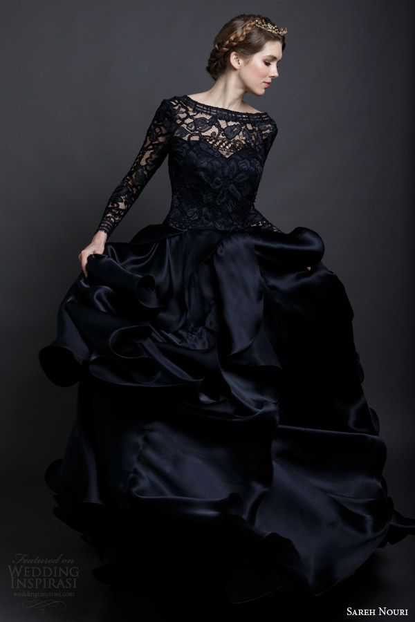 25  best ideas about Black wedding dresses on Pinterest | Black ...