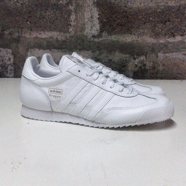 white adidas dragon
