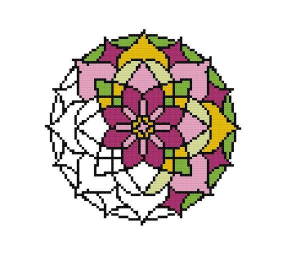 Modern cross stitch pattern counted cross stitch von XOstitch
