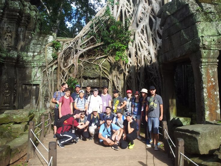 No trip to Cambodia is complete without a visit to the country's famed temples. #VietnamSchoolTours #Cambodia