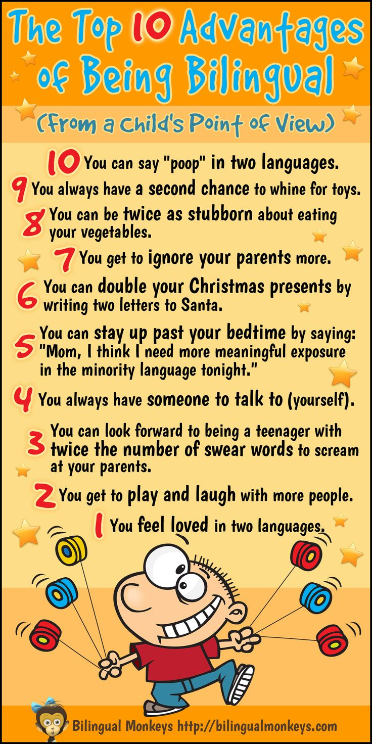 INFOGRAPHIC: The Top 10 Advantages of Being Bilingual