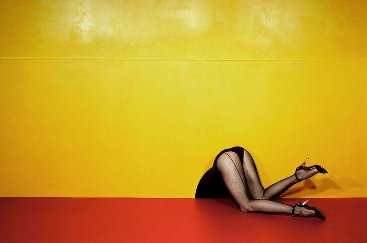 L'exposition Guy Bourdin: Image Maker à Londres http://www.vogue.fr/culture/a-voir/diaporama/la-feminite-troublante-de-guy-bourdin/21392