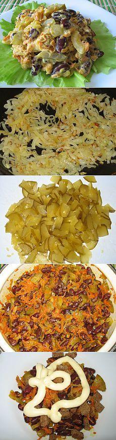 Полезный фасолевый салат | Fitvid