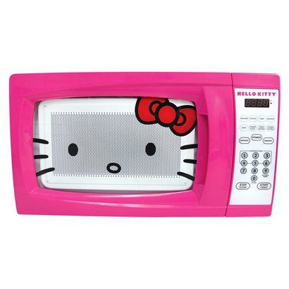 Hello Kitty Microwave    #THeaSelby #D5 #Food #HelloKitty #Home