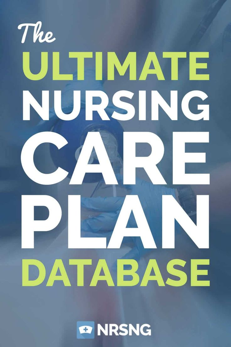 The Ultimate Nursing Care Plan Database from @NRSNG