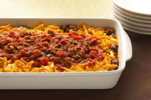 Easy Layered Taco Bake recipe