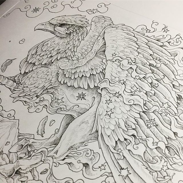 Hippogriff For The Upcoming Mythomorphia Kerby Rosanes