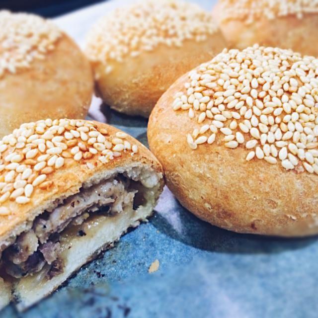 レシピとお料理がひらめくSnapDish - 15件のもぐもぐ - Hujiao Bing (胡椒餅) ver. first try by e