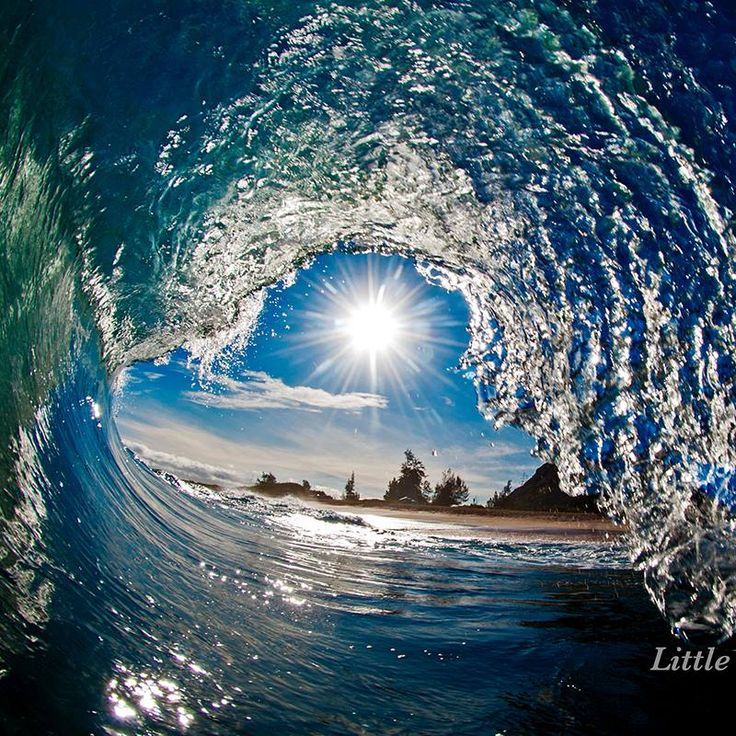 Describing his photographic vision as trying to capture waves,