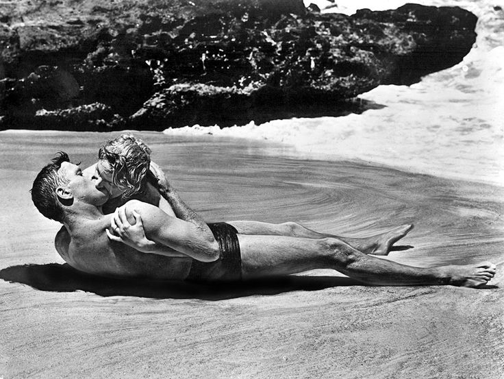 From Here to Eternity (1953) Columbia Pictures Directed by: Fred Zinnemann Written by: Daniel TaradashThe other Oscars it won: Zinnemann (Best Director); Taradash (Best Screenplay); Frank Sinatra (Best Supporting Actor); Donna Reed (Best Supporting Actress); Burnett Guffey (Best Cinematography – Black and White); William Lyon (Best Film Editing); John P. Livadary, Columbia Studio Sound Department (Best Sound)What it beat for Best Picture: Julius Caesar, The Robe, Roman Holiday, Shane