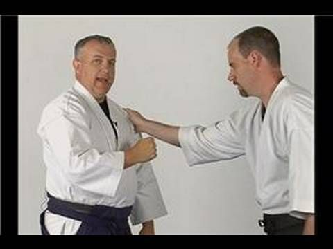 Aikido Techniques : Ikkyo from a Lapel Grab