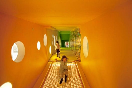 Children's Museum of the Arts  Architects: Work AC  Location: 103 Charlton St, New York, USA