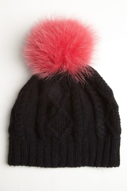 Ida - Cashmere bobble hat. £75 at Donnaida.com.