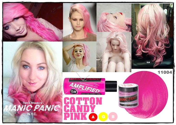Manic Panic Amplified Cotton Candy Pink  Vellus Hair Studio 83A Tanjong Pagar Road S(088504) Tel: 62246566