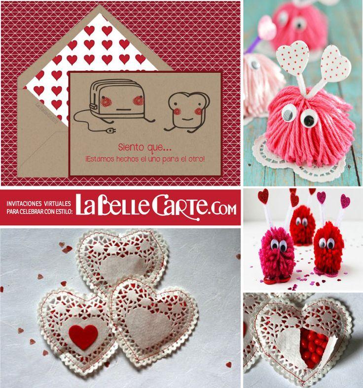 Tarjetas de san valentin tarjetas san valentin ideas para san valentin diy de san valentin - Ideas para sanvalentin ...