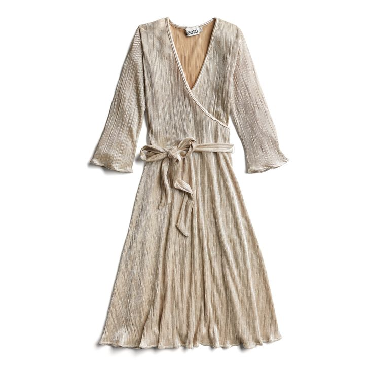 Stitch Fix Fall Stylist Picks: Gold wrap dress