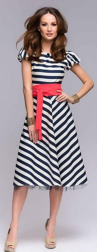 Retro Midi Dress