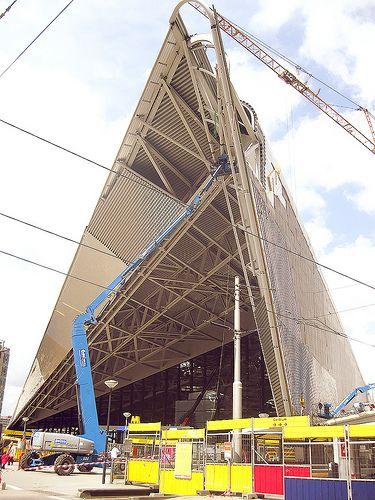 Nieuwe Centraal Station in aanbouw - Rotterdam