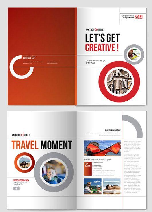 40 Best The Best Brochure Design Collection Images On Pinterest