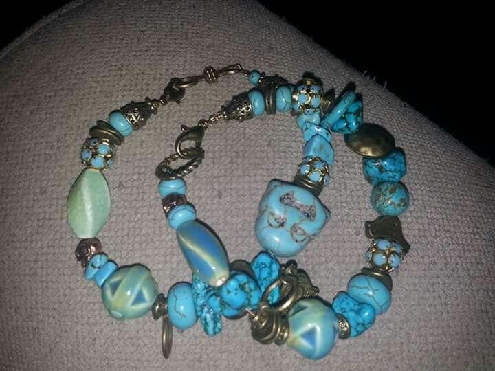 Turquoise  lucky bracelets