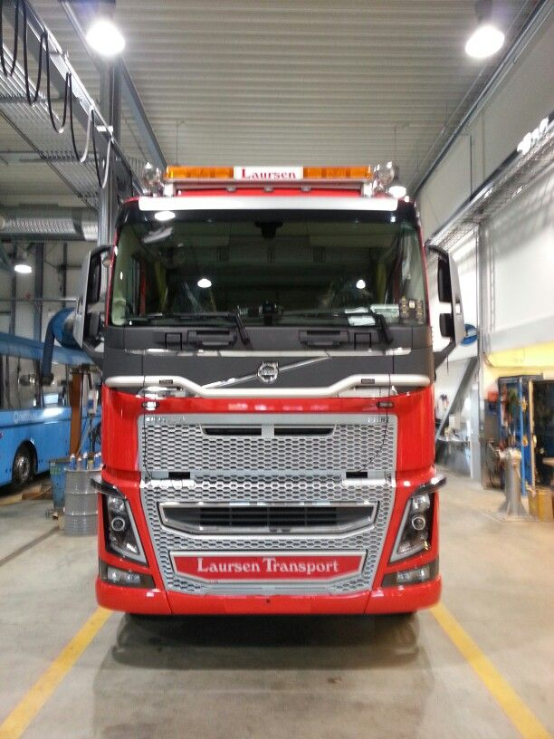 Lastebil dekor for Laursen Transport