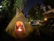 Camping in Praha. Nad Ohradou 17
