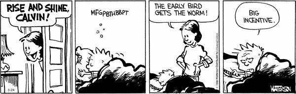 Calvin and Hobbes 3/24/16