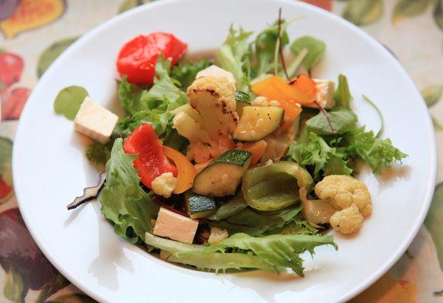 Salaatti voi olla lämmintäkin!