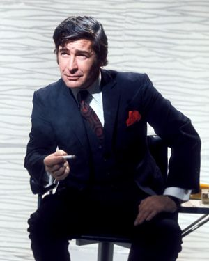 Dave Allen..One of the funniest comedians ever! Loved his show!