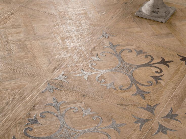 Pavimento/rivestimento in gres porcellanato effetto legno LARIX by Ariana Ceramica Italiana