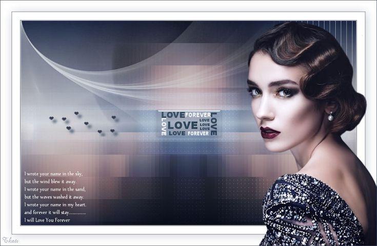 tut: Love forever; tube Lily G