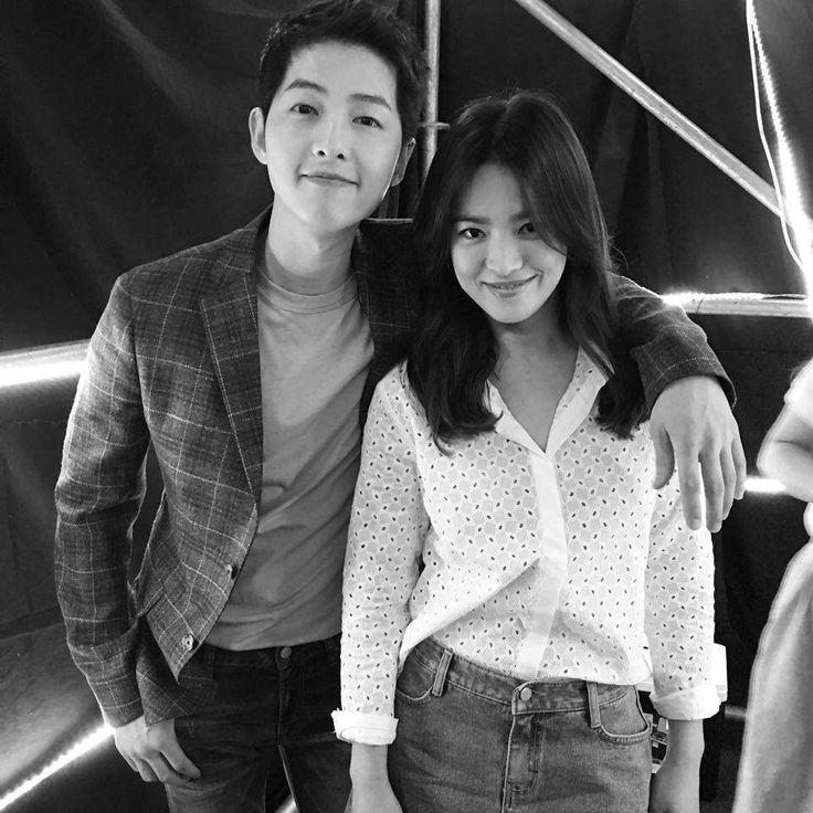 Song Joong Ki and Song Hye Kyeo