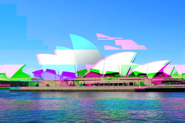 Opera House Disruptive glitch done with http://www.airtightinteractive.com/demos/js/imageglitcher/