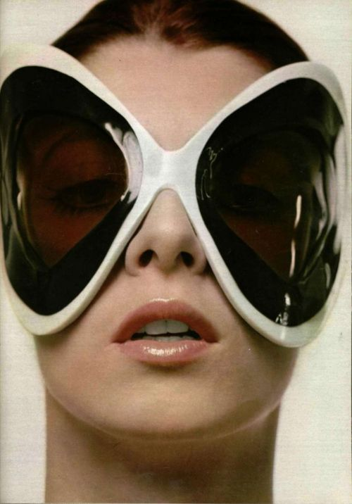 Space age sunglasses Repinned by www.fashion.net