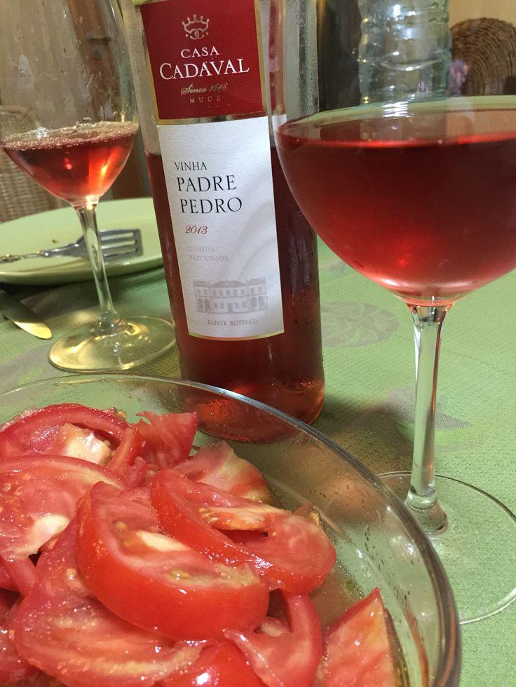 Harmonias rosadas! #vinalda #cadaval #rosé