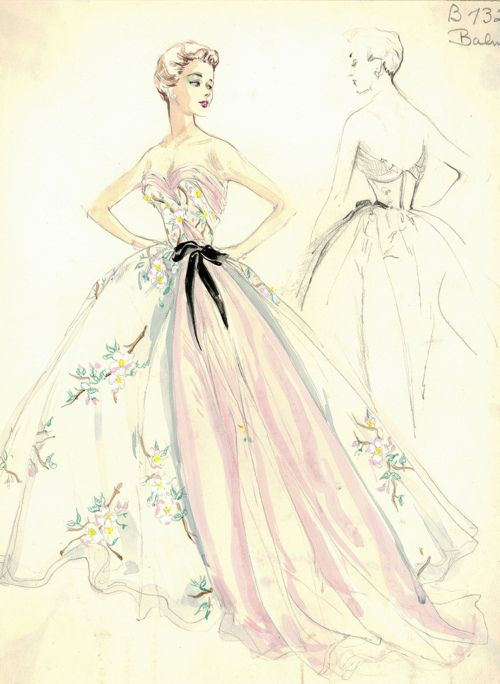 High Fashion illustration