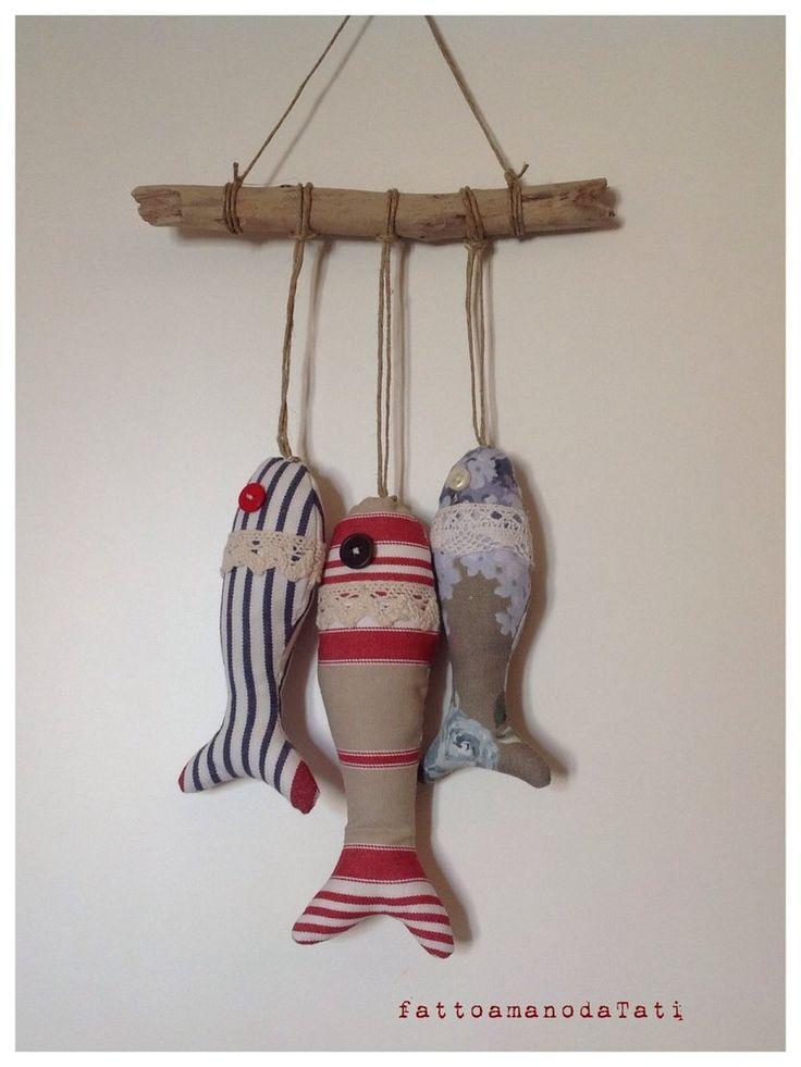 Pesciolini di stoffa imbottiti, by fattoamanodaTati, 15,00€ su misshobby.com