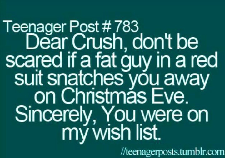 Dear crush   Cute love quotes   Pinterest