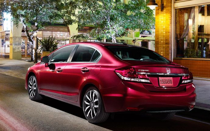 2014 Honda Civic Sedan - Exterior Photo