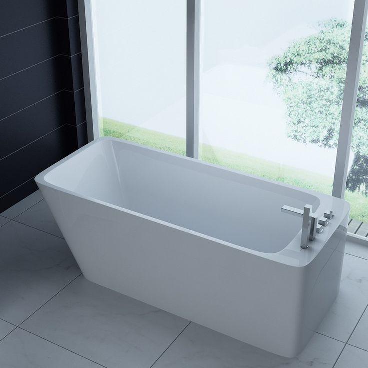 28 best Baignoires îlots images on Pinterest Soaking tubs - comment changer les joints d un robinet