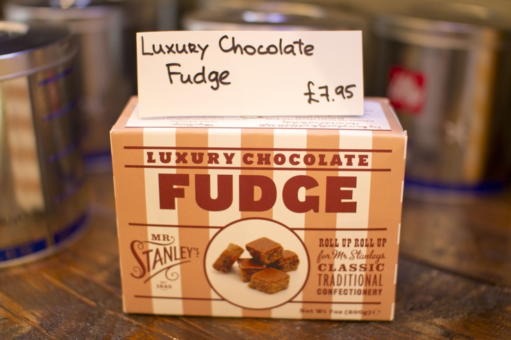 Chocolate Fudge.