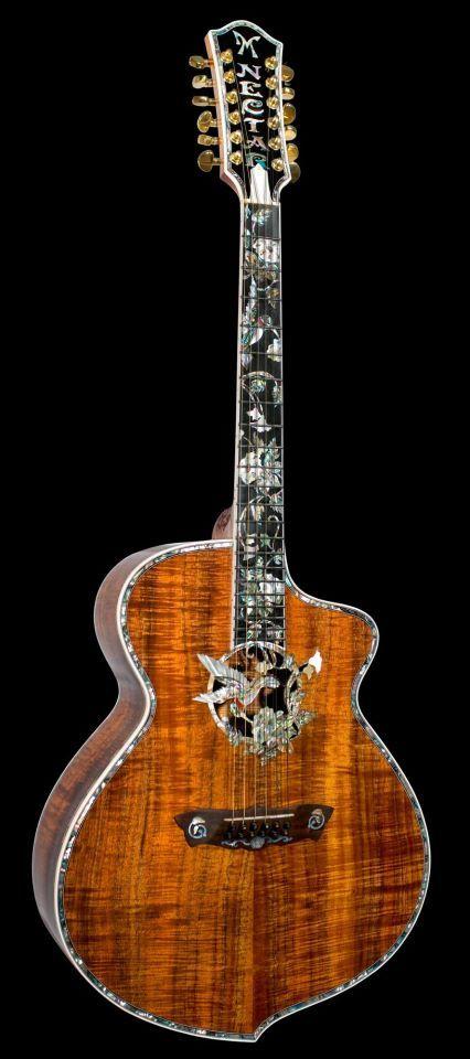 12 string acoustic #guitar made by Minarik Guitars