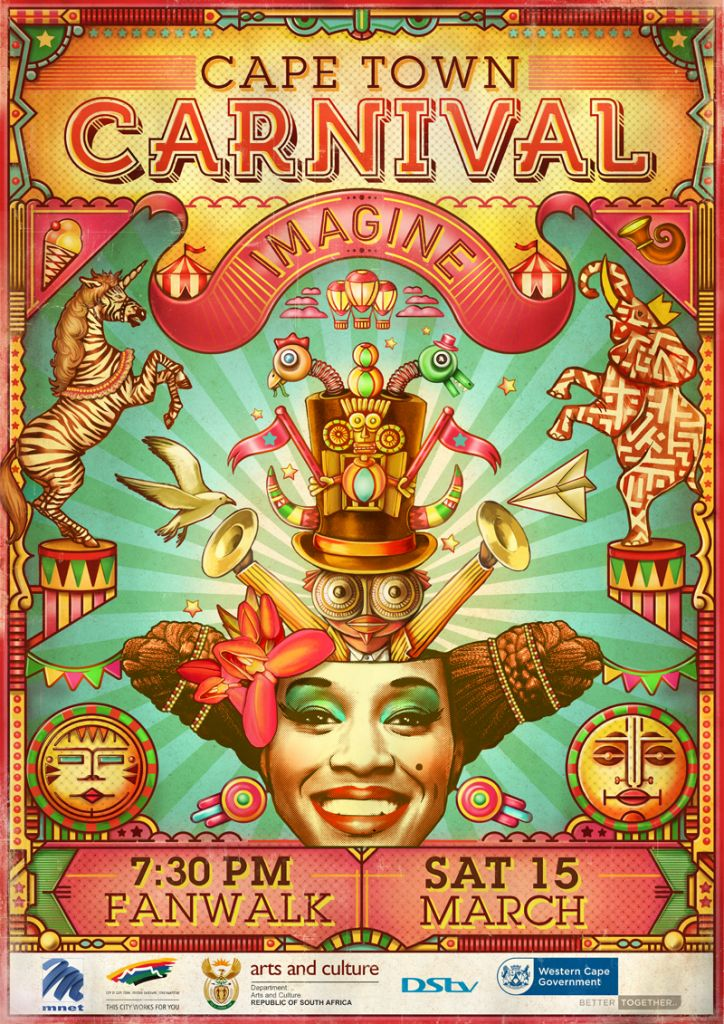 Cape Town Carnival Poster 2014 - must go 2015