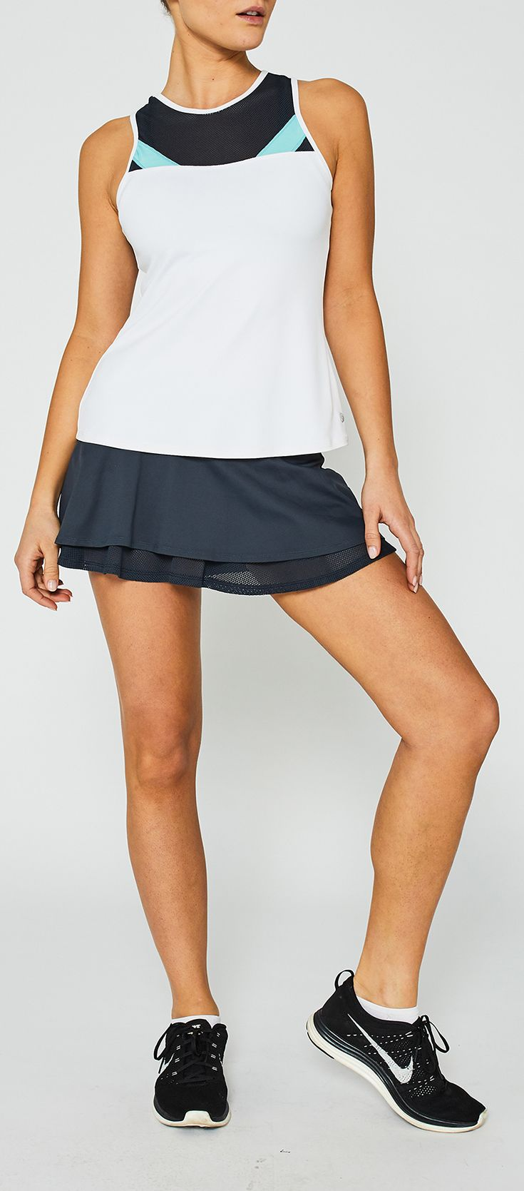 Lija introduces the newest tennis and training collection for spring. The  Lija Laguna Surf collection of premier women's tennis apparel offers great  looking ...