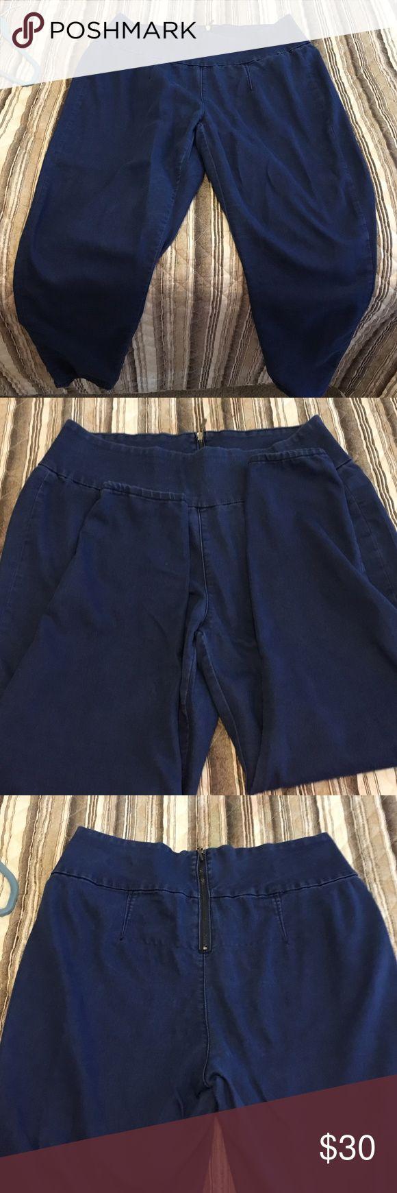Melissa McCarthy Skinny Jeans Size 18W Zip back very cute on Melissa McCarthy Jeans Skinny