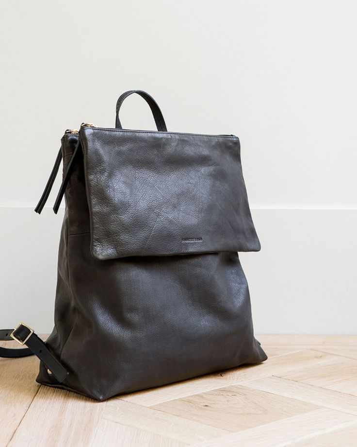 Soft leather backpacks are key for the season. View autumn arrivals and inspiration at http://www.countryroad.com.au/shop/woman